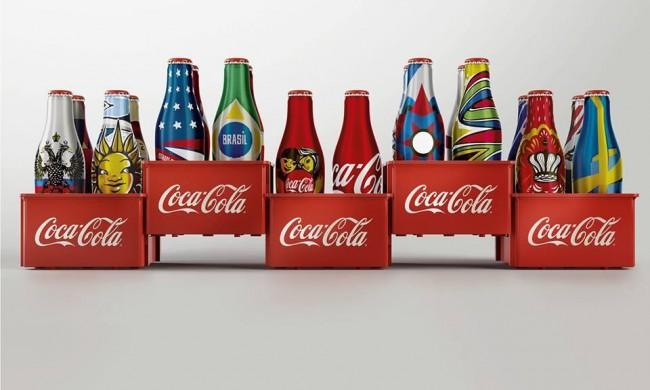 coke-the world s cup-mini bottle1