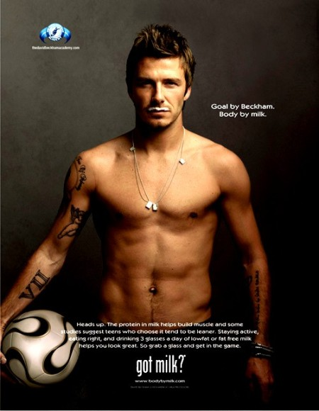 got milk-david beckham