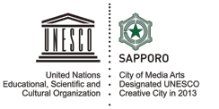creative cities logo-UNESCO media arts-Sapporo
