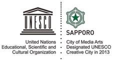 creative cities logo-UNESCO media arts-Sapporo