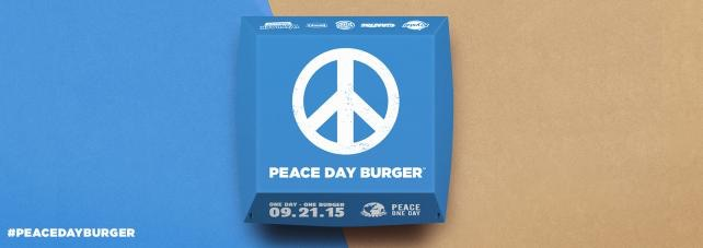Burger King-Peace One Day2