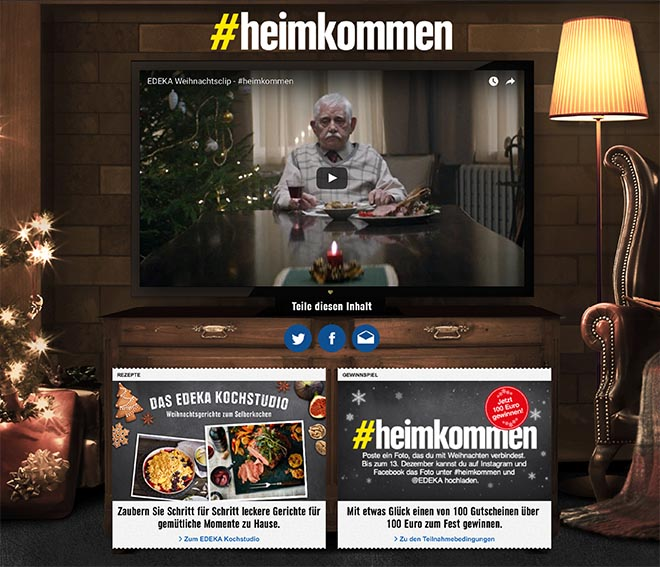 edeka-heimkommen-home coming page