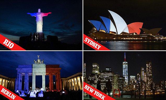 pray for paris-world