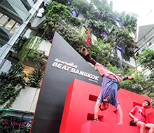 Sports Mall Installation: Beat Bangkok